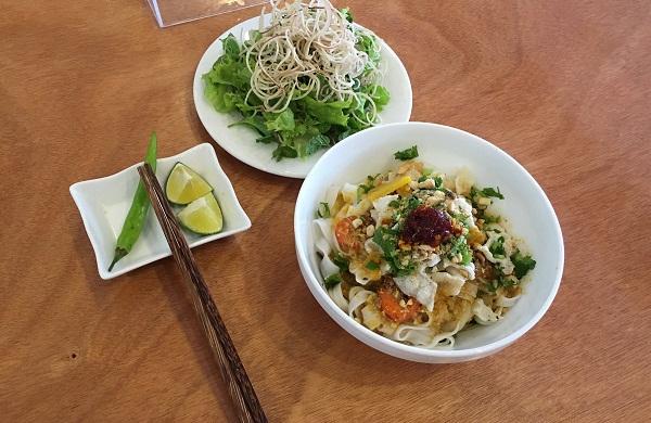 Mỳ quảng Phú Chiêm – hương vị quê nhà Quảng Nam
