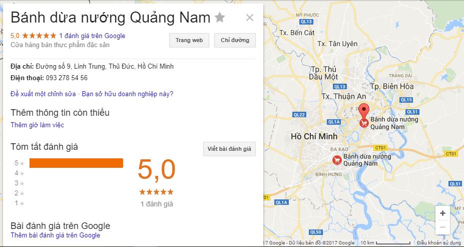 Bánh dừa nướng tại Hồ Chí Minh